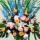 スタンド花ワイヤースタンドスタイル(パステルの色調)