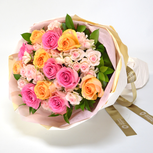 バラの花束<パステル>