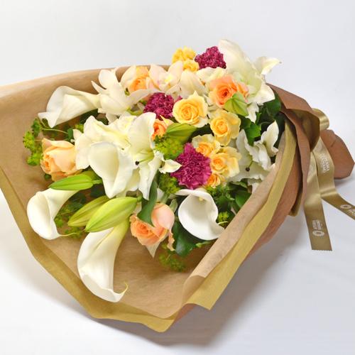 花束<シンビジュームプレシャス>