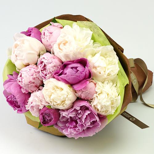 芍薬の花束(15本)