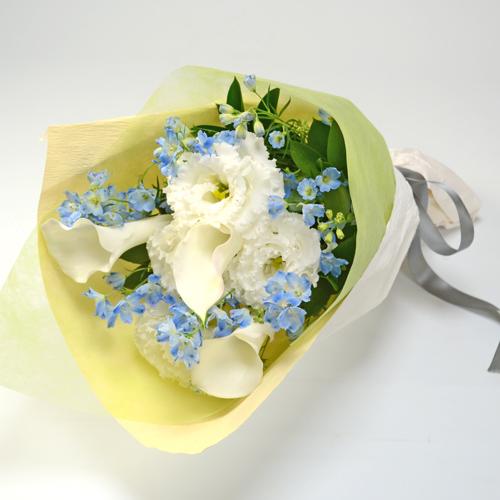 ご供花 やさしい色の花束
